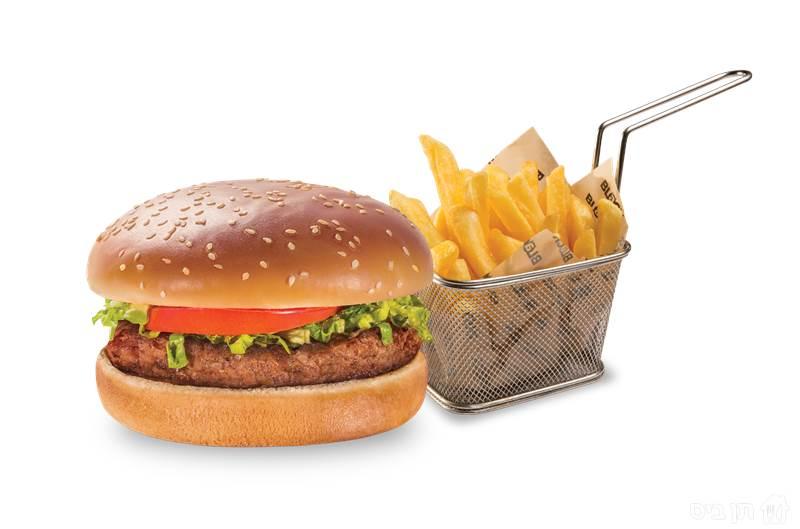 המבורגר ילדים, בליווי צ'יפס