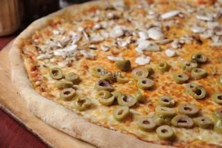 פיצה גדולה, שש יחידות פיצה+תוספות לבחירה בתשלום