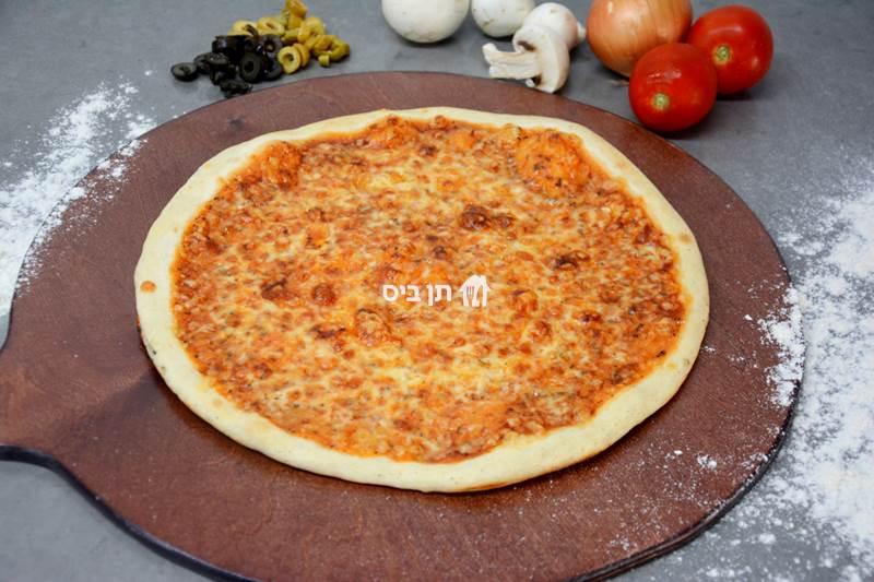 פיצה אקסטרה FIX, ענק, 8 משולשים במגש