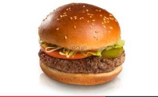 המבורגר 160 גר', המבורגר הדגל שלנו. תערובת בשר בקר...