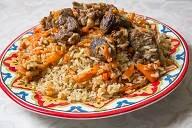 אושפלוב, אורז עם גזר ובשר