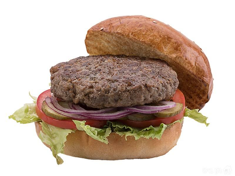 מוזס קלאסי 150 ג', בשר בקר, אייסברג, עגבנייה, בצל סגול...