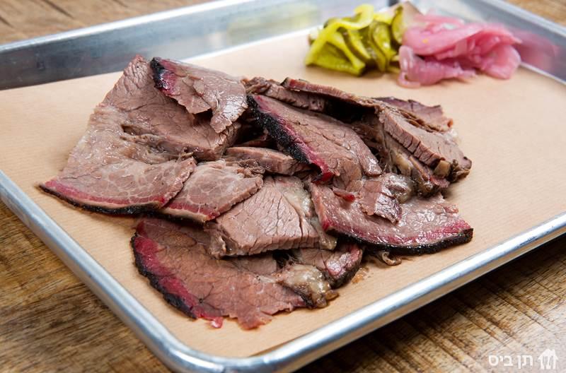Beef Brisket בריסקט (חזה בקר), 100 גרם