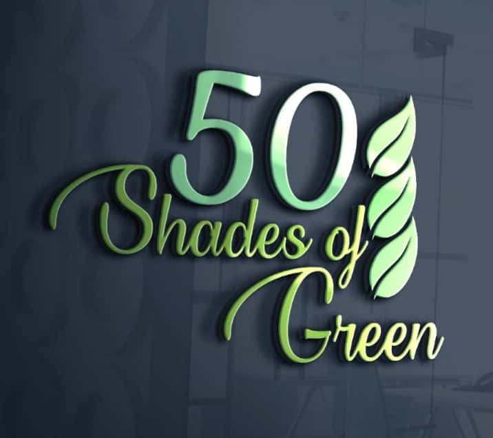 50 גוונים של ירוק